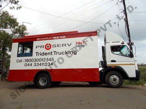 Mobile Service Vans Bharat Benz Mobile Service Van