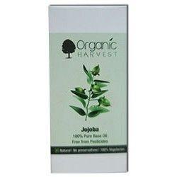 Organic Harvest Jojoba 100% Pure Base Oil