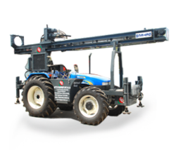 tractor mounted drilling rig water well