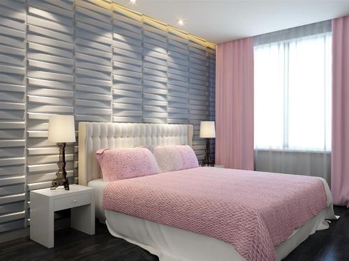 3D Wall Panels Bedroom