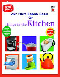 My First Board Book Things At Kitchen