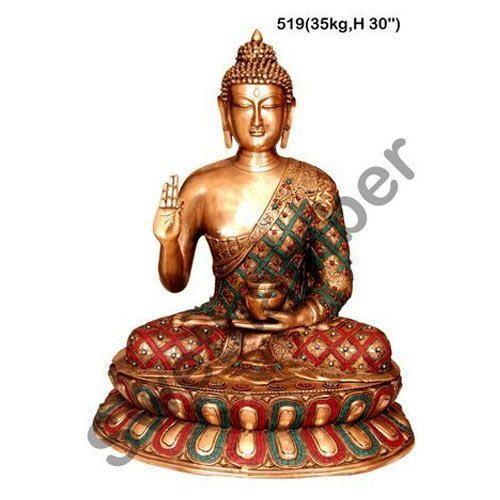 Handicraft Brass Buddha Statue