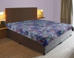 Kantha Gudari Paisley Design Cotton Bed Cover