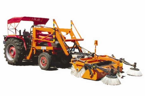Tractor Attach Road Sweeping Machine