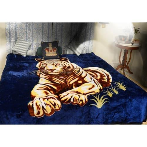 Printed Mink Blanket Animal Print Mink Blanket Manufacturer From