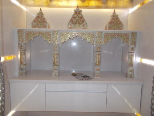Marble Stone Artifacts Marble Pooja Mandir Decorators Retail