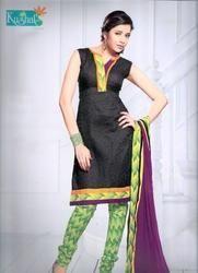 cotton patiyala silk dress material