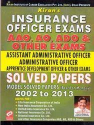 Insurance Officer Exam AAO AO ADO