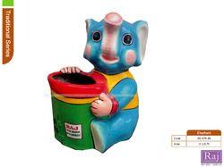elephant shaped dustbins