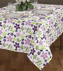 Flower Print Table Cloth