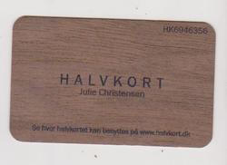 Custom Printed Wooden Visiting Cards