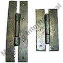 Hand Forged Iron 'H' Hinge