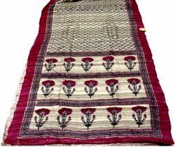 Hand Block Silk Sarees
