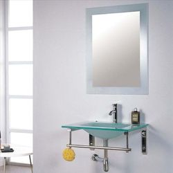 Glass Bathroom Mirror