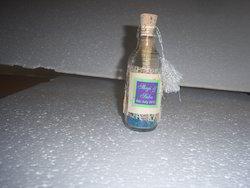 Glass Bottled Wedding Invitations With Custom Printing
