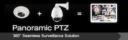 Seamless Surveillance Solution Panoramic PTZ Camera