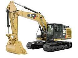 Caterpillar Excavator Machine Rental Service