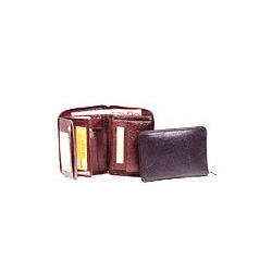 Brown Tri Fold Wallets