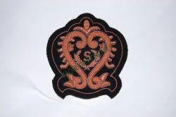Sin Centre/Wreath Hand Embroidered Blazer Badge