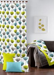 Protea Flower Printed Curtain