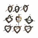Multiwood Shawl Pins