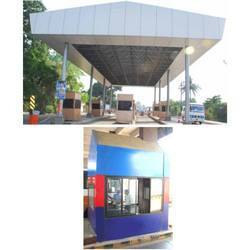 Toll Booth And Toll Plaza