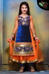 Designer Kids Chudidar Suit