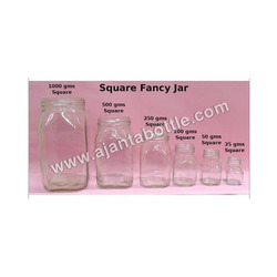 Square Fancy Jar
