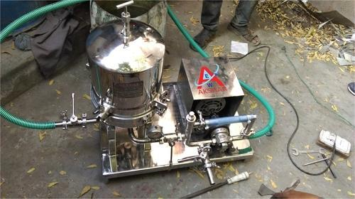 Cooking Oil Filter Press Machine