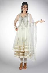 Anarkali with Shrug