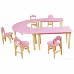 U Shape Table Set
