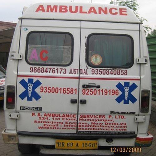 Ambulance Tempo Traveler