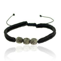 Diamond Beads Macrame Bracelet