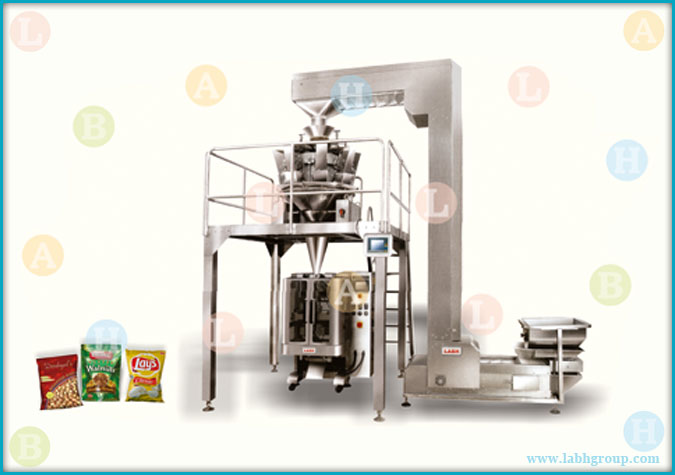 Automatic Pouch Packing Machine with Combinational Weigher