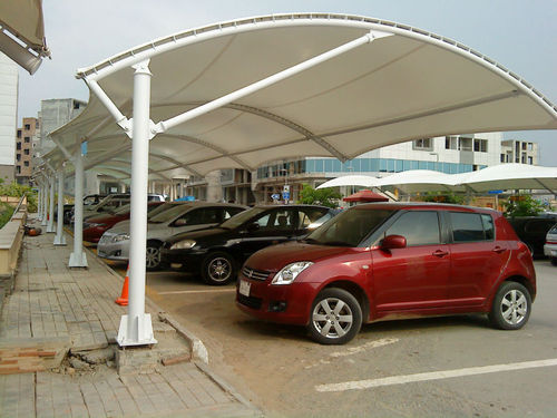 Tensile Car Parking Canopy & Tensile Canopy - Tensile Car Parking Canopy Manufacturer from Pune