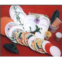 Colorful Paper Plates