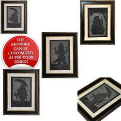 Poses of Ganesha - Decorative Slate Carving