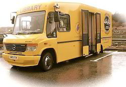 Mobile Library Van Body