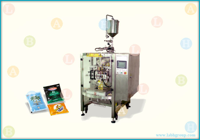 Automatic Sachet Packing Equipment with Piston Filler