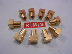 Brass Square Inserts for Roto Moulding