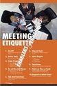 Meeting Etiquette Poster