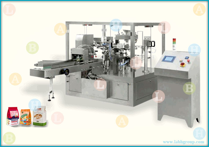 Automatic Horizontal Packaging Machine for Standup Bags