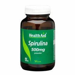 Spirulina 500 Mg 60 Tablets
