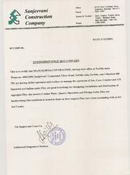 Contract With Sanjeevani