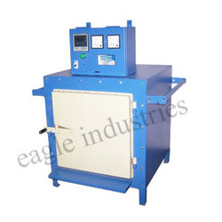 jewelry burn out furnace with timer machinery