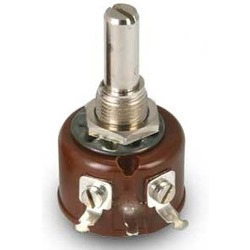 Single Turn Wire Wound Potentiometer