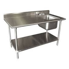 Kitchen Steel Table Kitchen equipments stainless steel table sinks manufacturer from stainless steel table sinks workwithnaturefo
