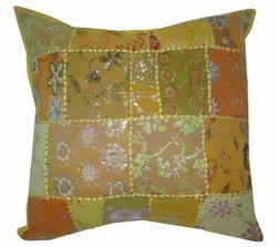khamadiya Old Patch Work Cushion Cover 1