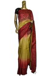 Fancy Tussar Silk Saree