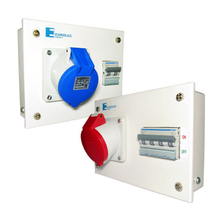 Electrical Metalic Enclosure With Mcb And Industrial